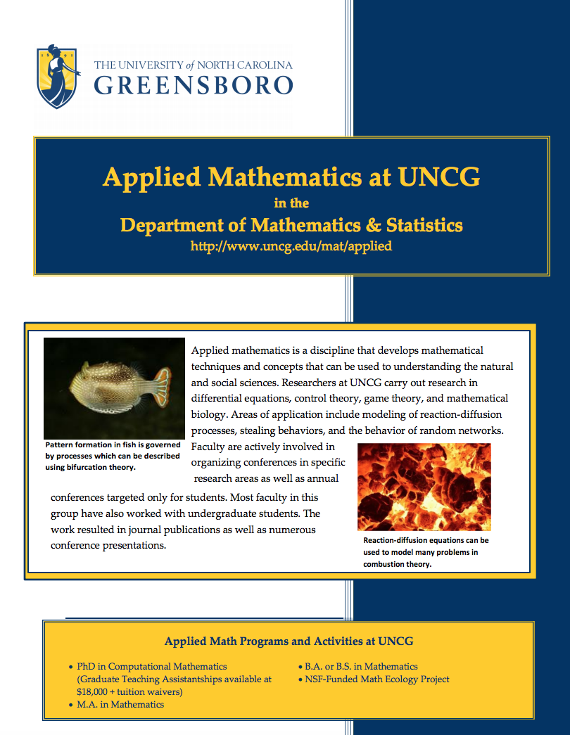 Applied Math Brochure