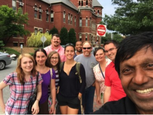 Full research group at UNCG in June 2016