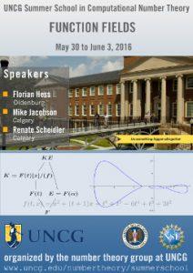Summer School 2016: Function Fields