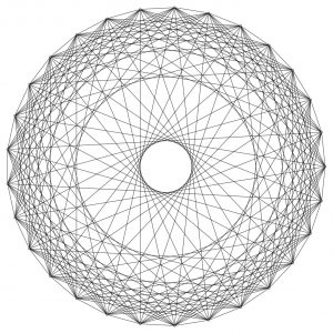 Plot of the 29-Paley graph