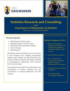 stats brochure