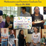 Graduate Tea March 2019